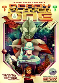 Ready player one poster mini