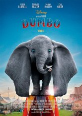 cartel mini de la película Dumbo (2019)
