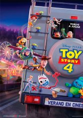 cartel mini de la película Toy Story 4
