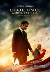 cartel mini de la película Objetivo: Washington D.C.