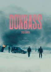cartel mini de la película Donbass