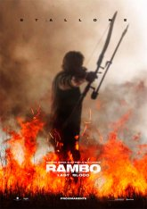 cartel mini de la película Rambo: Last Blood