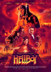 cartel mini de la película Hellboy (2019)