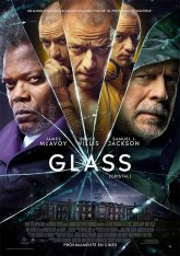 cartel mini de la película Glass (Cristal)