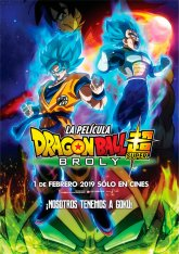 cartel mini de la película Dragon Ball Super: Broly